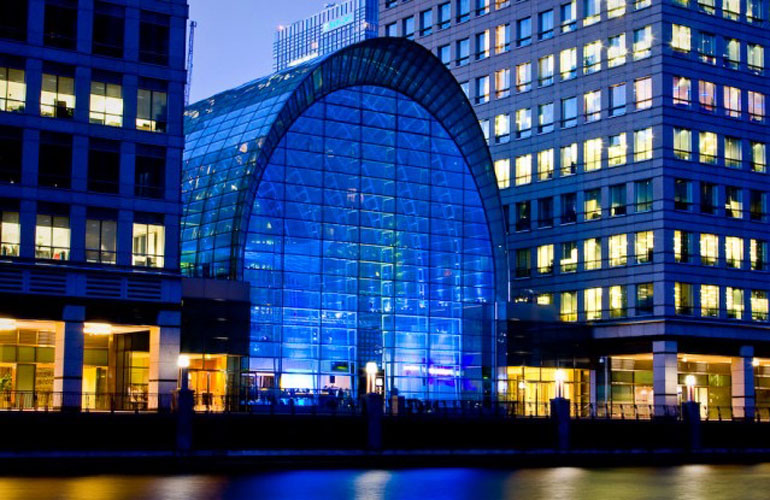 East Wintergarden, Canary Wharf